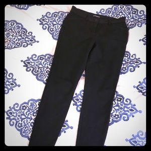 Black Super Stretch Pants (Jeggings) from Express